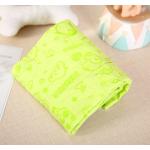 ผ้าเช็ดตัวสุนัข ผ้าเช็ดตัวชามัวร์ (สีเขียว)