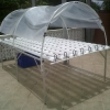 ชุดปลูกผักไฮโดรโปรนิกส์ แบบ ตั้งโต๊ะ ขนาด 3 เมตร จำนวน 8 รางปลูก