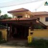ขายบ้าน บ้านเดี่ยว 2ชั้น หลังใหญ่ 66 ตร.ว. ซ.วัดพระนอน บางใหญ่