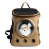 กระเป๋าแคปซูลแมวอวกาศ กระเป๋าเป้อวกาศ (สีครีม)