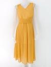 1209011 ขายส่งเสื้อผ้าแฟชั่น เดรสกระโปรงผ้าชีฟองมีซับในตัวค่ะ งานดีงานสวยจริง คุณภาพเกินราคาแน่นอน สม๊อกหลัง รอบอก 34 นิ้ว