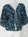 150701 ขายส่งผ้าแฟชั่น คอวีแบบเก๋ ผ้าเนื้อดีใส่สบายๆ รอบอก 32-38 นิ้วใส่ได้ค่ะ