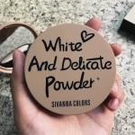 Sivanna White And Delicate Powder HF587 แป้งอัดแข็งเนื้อบางเบา ราคา 120 บาท