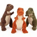 Hoopet ตุ๊กตาไดโนเสาร์ ของเล่นสุนัข บีบมีเสียง