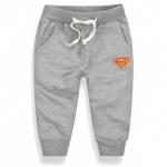 (SOLD OUT) W007 : กางเกงขายาวสีเทาจั๊มขา