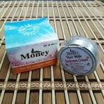 Money Rice Milk Sunscreen Cream SPF50PA+++ ครีมกันแดดน้ำนมข้าว กันแดดเนื้อใยไหม