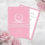 13.5x19.5 cm. Theme : Pink