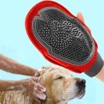 ถุงมืออาบน้ำสุนัข ถุงมือกรูมมิ่ง