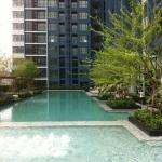 ขายคอนโด - เช่า คอนโด The Base พระราม9 ชั้น7 ขนาดห้อง1Bedroom ราคาถูก วิวสระว่ายน้ำ ห้องใหม่ ห้องมือ1พร้อมเฟอร์นิเจอร์ครบ วิวสวยมากๆ