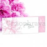 4x9 inch. Theme : Pink