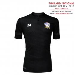 """เสื้อทีมชาติไทย สีดำ """" ไชยานุภาพ """""""