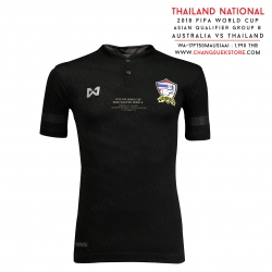 เสื้อทีมชาติไทย Match Detial ออสเตรเลีย vs ทีมชาติไทย