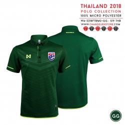 เสื้อโปโลช้างศึก ทีมชาติไทย 2018 WA-3318FTBM2