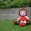 ตุ๊กตาถักหนูน้อยหมวกแดง thumbnail 1