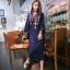 250101 ขายส่งเสื้อผ้าแฟชั่นผ้าสปันงานปัก maxxi dresss กำลังเป็นที่นิยมตอนนี้ค่ะ รอบอกฟรีไซส์ 32-40 นิ้วใส่ได้ค่ะ ยาว 44 นิ้ว thumbnail 2