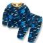 (SOLD OUT) W033 : Set 2 ชิ้น ชุดนอนแขนยาวลายกาแล็กซี + กางเกงขายาว thumbnail 1