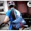 กระเป๋าสะพายข้างผู้ชาย เนื้อผ้า Oxford Spinning กันน้ำสีดำ รหัส A014 thumbnail 5