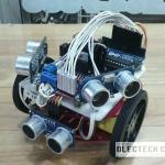 เขียนโปรแกรมคุมหุ่นยนต์วิ่งออกจากเขาวงกต