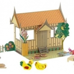 ตุ๊กตาไทย ของเล่นเอกลักษณ์ไทย ของเล่นเพื่อความเพลิดเพลิน ของเล่นไม้