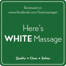 มาตรฐานร้านนวดไทย WHITE Massage Shop
