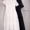 แม็กซี่เดรส Dollita Lace Maxi Dress สีขาว