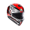 AGV K3-SV PROTON BLACK RED