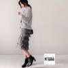 กระโปรงแฟชั่น MIDI Fringe Layerd Skirt