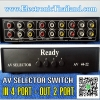 AV Selector Switch 4 Port
