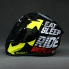 BILMOLA VELOCE EAT SLEEP RIDE - BLACK