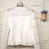 เสื้อลูกไม้แฟชั่น Lady Fabulous Lace Blouse by MyStyle สีขาว