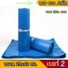 ซองพลาสติก สีฟ้าเบอร์ 2 จำนวน 100 ใบ
