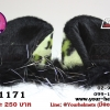 หูฟรุ้งฟริ้ง ไรเดอร์ หูแมวติดหมวกกันน็อค GF1171