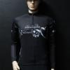 เสื้อปั่นจักรยานสีดำ รุ่น 4 (ป้ายขาว)