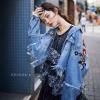 แจ็คเก็ตยีนส์ Zara Embroidery Denim Jacket