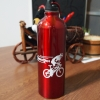 ขวดน้ำจักรยาน สแตนเลส สีแดง