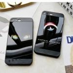 [120-013]เคสมือถือไอโฟน Case iPhone 8 เคสนิ่มสไตล์ยุโรปแบรนด์ Captain America