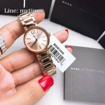 MARC BY MARC JACOBS Peggy Rose Gold Sunray Dial Ladies Watch MBM3406