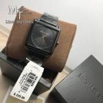 Michael Kors Women's Lake Black Stainless Steel Bracelet Watch MK3666