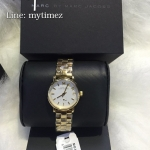 MARC BY MARC JACOBS Mini Baker White Dial Gold-Tone Ladies Watch MBM3247