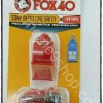 นกหวีด FOX 40 Sonik Blast CMG สีแดง NEW MODEL