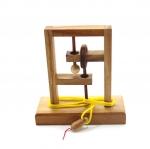 เกมส์เส้นเชือก ของเล่นเสริมปัญญา ของเล่นเสริมพัฒนาการ ของเล่นไม้