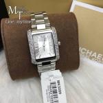 MICHAEL KORS Petite Emery Silver Dial Stainless Steel Ladies Watch MK3289