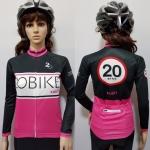 เสื้อปั่นจักรยานแขนยาว 20ฺ Bike