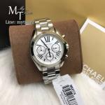 MICHAEL KORS Bradshaw Chronograph Silver Dial Ladies Watch MK6174