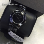 MARC BY MARC JACOBS Blade Ceramic Black Dial Watch MBM9501