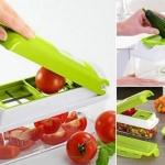 ชุดสไลซ์ผัก/ ชุดหั่นผักผลไม้อัจฉริยะ (สีเขียว)