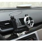 ที่วางกระป๋อง ขวดน้ำ หน้าแอร์ ในรถยนต์ มีใบพัด