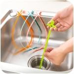 (เซต 3 ชิ้น คละสี) ชุดกำจัดสิ่งอุดตันในอ่างล้างจานและอ่างล้างหน้า