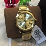 Michael Kors Hartman Gold-Tone Stainless Steel Ladies Watch MK 3490