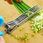 กรรไกรหั่นผัก 5 ใบมีด